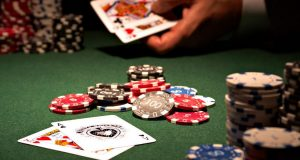 Las Vegas In Its Heyday for Poker player